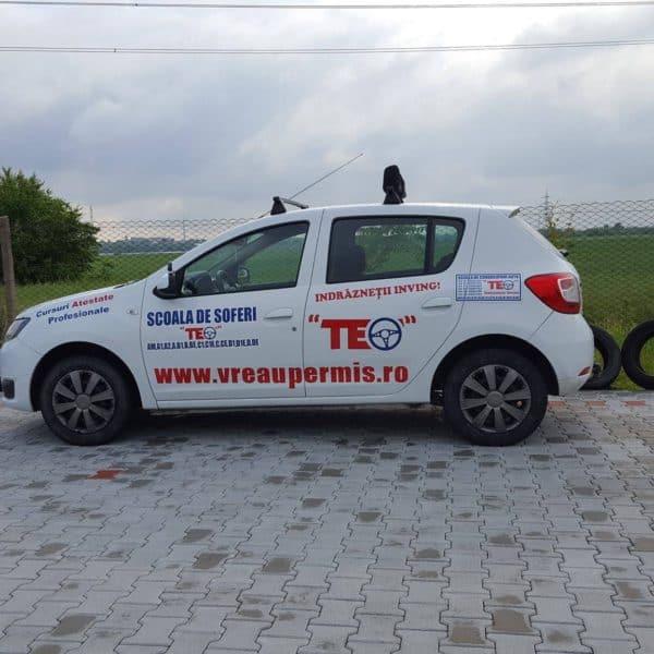 Filmare drona – Poligon Scoala de Soferi TEO