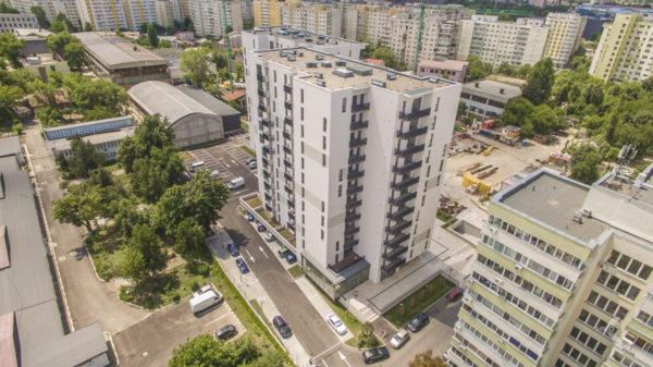 Fotografiere din drona: complex residential Nusco Citta
