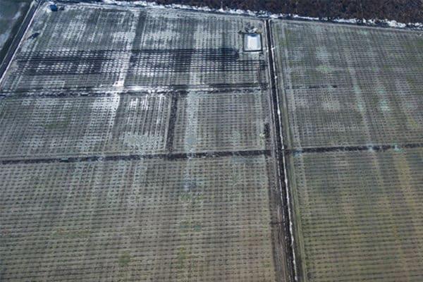 Inspectie aeriana – inundatie teren agricol Studio HIKO
